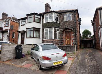 Thumbnail 3 bedroom semi-detached house for sale in Ermington Crescent, Birmingham