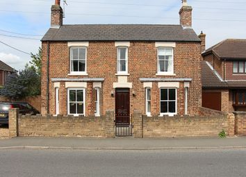 Thumbnail 4 bedroom detached house for sale in Hall Street, Crowland, Peterborough
