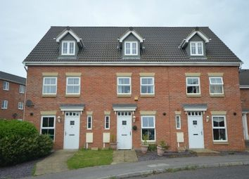 Thumbnail 3 bed town house for sale in Robin Road, Corby