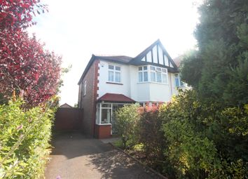 Thumbnail 3 bed semi-detached house for sale in Chester Avenue, Southport