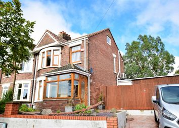 Thumbnail 3 bed semi-detached house for sale in Claude Road West, Barry