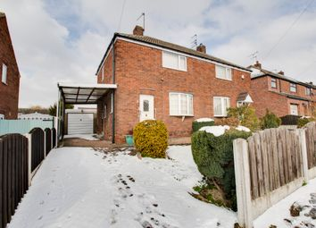 Thumbnail 2 bed semi-detached house for sale in Havercroft Road, Stag, Rotherham