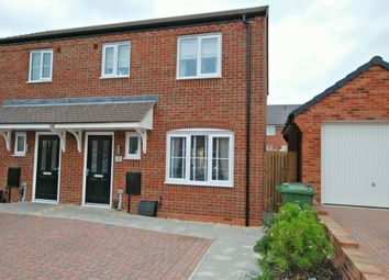 Thumbnail 3 bedroom semi-detached house for sale in Ypres Way, Evesham