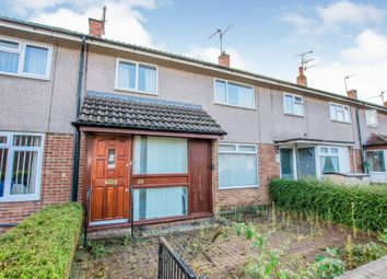 Thumbnail 3 bed terraced house for sale in Caernarvon Crescent, Llanyravon, Cwmbran