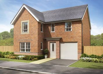 "Thumbnail 4 bed detached house for sale in ""Halton"" at Crewe Road, Shavington, Crewe"