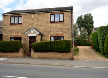 Thumbnail 3 bed detached house for sale in Crowland Road, Eye, Peterborough