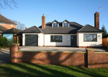 Thumbnail 4 bed detached bungalow for sale in Abbots Way, Newcastle Under Lyme, Staffordshire