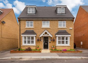Thumbnail 5 bed detached house for sale in Larkspur Drive, Burgess Hill