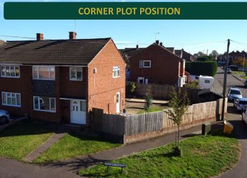 Thumbnail 3 bed semi-detached house for sale in Halcroft Rise, Wigston, Leicester