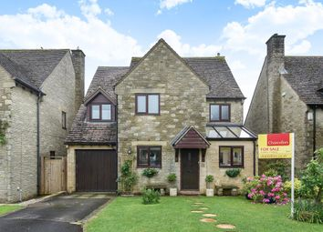 Thumbnail 5 bed detached house for sale in Harolds Close, Leafield, Witney