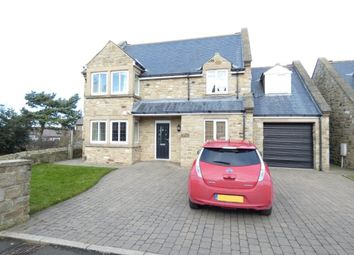 Thumbnail 4 bed detached house to rent in Castle Mound, Widdrington, Morpeth