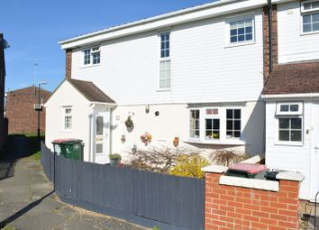 Thumbnail 4 bed end terrace house for sale in Padstow Walk, Bewbush