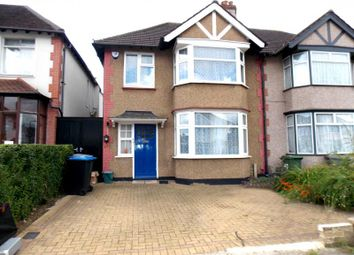 Thumbnail 4 bedroom semi-detached house to rent in Logan Road, Wembley