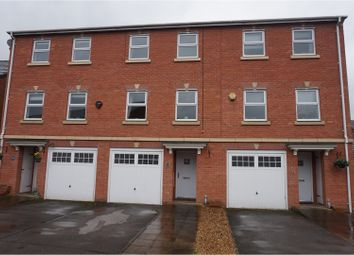 Thumbnail 3 bed town house for sale in Marion Drive, Knutsford