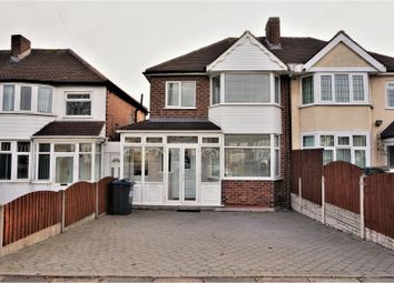 Thumbnail 3 bed semi-detached house for sale in Kings Road, Great Barr