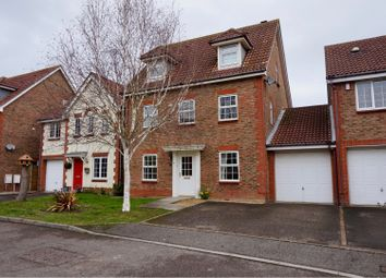 Thumbnail 5 bed detached house for sale in Saxby Close, Barnham