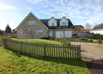 Thumbnail 4 bed detached house for sale in Leslies Drive, Otterburn, Newcastle Upon Tyne