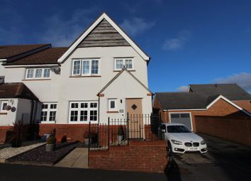 Thumbnail 3 bed end terrace house for sale in Heron Drive, Penallta, Hengoed