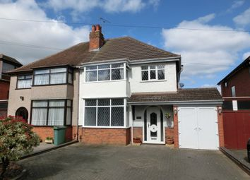 Thumbnail 3 bed semi-detached house for sale in High Street, Solihull Lodge, Solihull