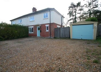 Thumbnail 3 bed semi-detached house for sale in Reading Road, Mattingley, Hook