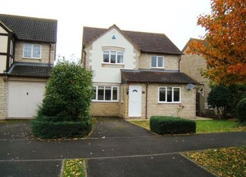 Thumbnail 4 bedroom detached house to rent in Haylea Road, Bishops Cleeve, Cheltenham