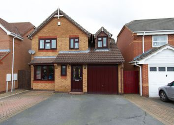 Thumbnail 3 bed detached house for sale in Curlew Close, Coalville