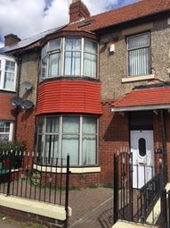 Thumbnail 5 bedroom terraced house to rent in Fenham Hall Drive, Fenham, Newcastle Upon Tyne