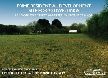 Thumbnail  Land for sale in Fore Street, Barripper, Camborne
