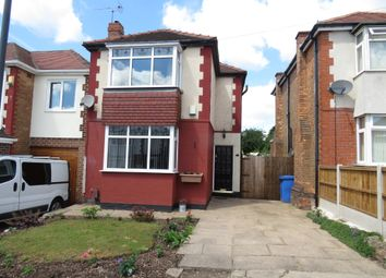 Thumbnail 3 bed detached house for sale in Atlow Road, Chaddesden, Derby