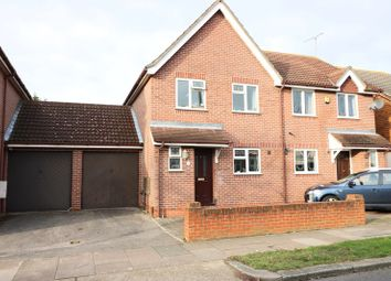 Thumbnail 3 bedroom semi-detached house to rent in Castleton Road, Southend-On-Sea