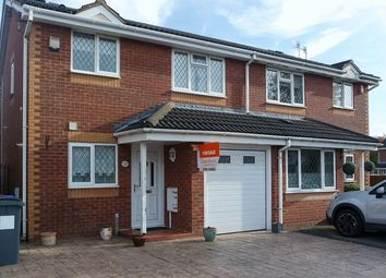 Thumbnail 3 bedroom semi-detached house for sale in Copplestone Grove, Weston Park, Stoke-On-Trent