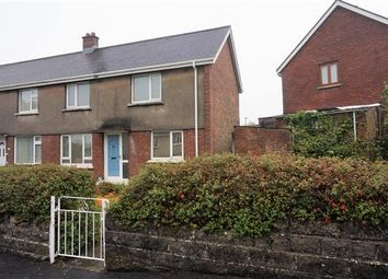 Thumbnail 3 bed semi-detached house to rent in Bancyffynnon, Cross Hands, Llanelli