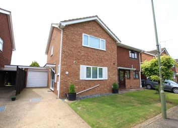 Thumbnail 3 bed semi-detached house to rent in Meadway Drive, Addlestone