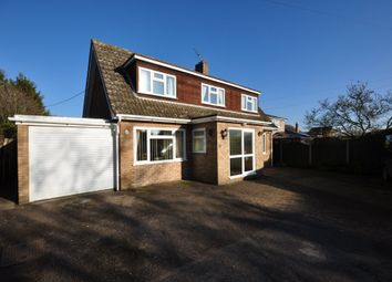 Thumbnail 3 bed detached house for sale in Church Road, Tasburgh, Norwich