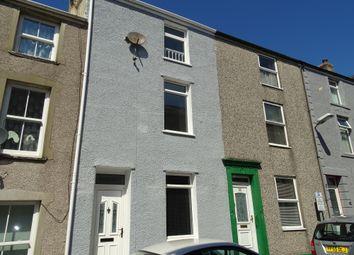 Thumbnail 3 bed terraced house for sale in New Street, Caernarfon, Gwynedd