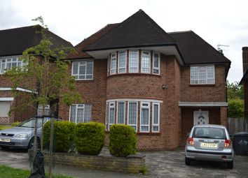 Thumbnail 6 bed detached house to rent in Connaught Drive, London