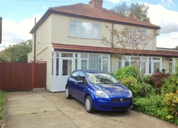 Thumbnail 2 bed semi-detached house for sale in Worthfield Close, West Ewell, Epsom
