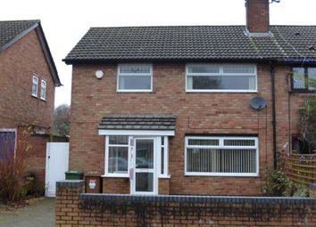 Thumbnail 3 bed semi-detached house to rent in Hazeldene Way, Wirral