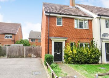 Thumbnail 3 bed end terrace house for sale in Elderberry Road, Red Lodge, Bury St. Edmunds