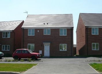Thumbnail 4 bed detached house for sale in Lyveden Way, Corby