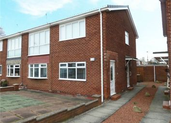 Thumbnail 2 bed flat for sale in Broomfield Avenue, Wallsend, Tyne And Wear