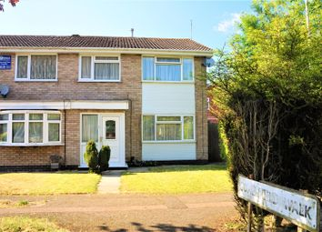 Thumbnail 3 bed semi-detached house for sale in Somerfield Walk, Leicester