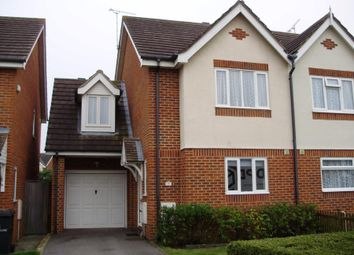 Thumbnail 3 bed semi-detached house to rent in Shore Close, Herne Bay