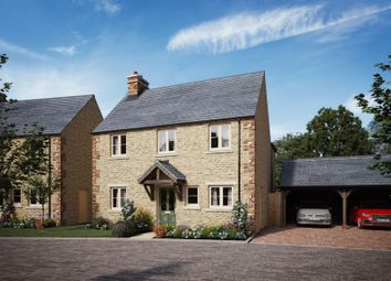 Thumbnail 3 bed detached house for sale in Park Road, North Leigh, Witney