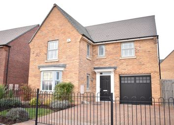Thumbnail 4 bedroom property to rent in Flaxland Way, Corby