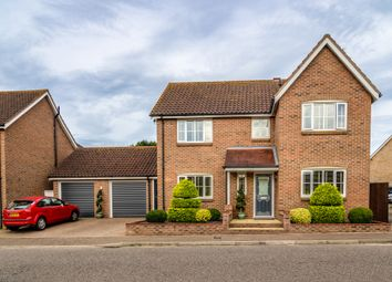 Thumbnail 4 bed detached house for sale in Blake Drive, Bradwell, Great Yarmouth