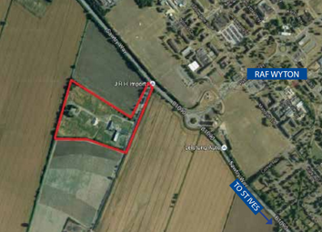 Thumbnail Land for sale in Sawtry Way, Wyton, Huntingdon