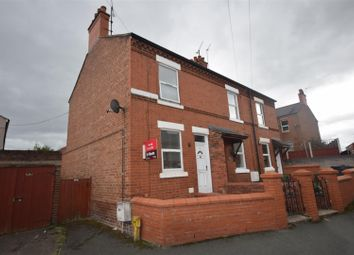 Thumbnail 2 bed end terrace house for sale in Barons Road, Wrexham