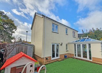 Thumbnail 3 bed detached house for sale in Raleigh Drive, Cullompton