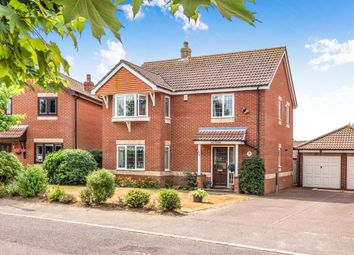 Thumbnail 4 bed detached house for sale in Howard Way, Aylsham, Norwich